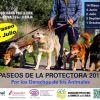 TERCER PASEO SOLIDARIO 2017 POR LOS DERECHOS DE LOS ANIMALES – 2 DE JULIO